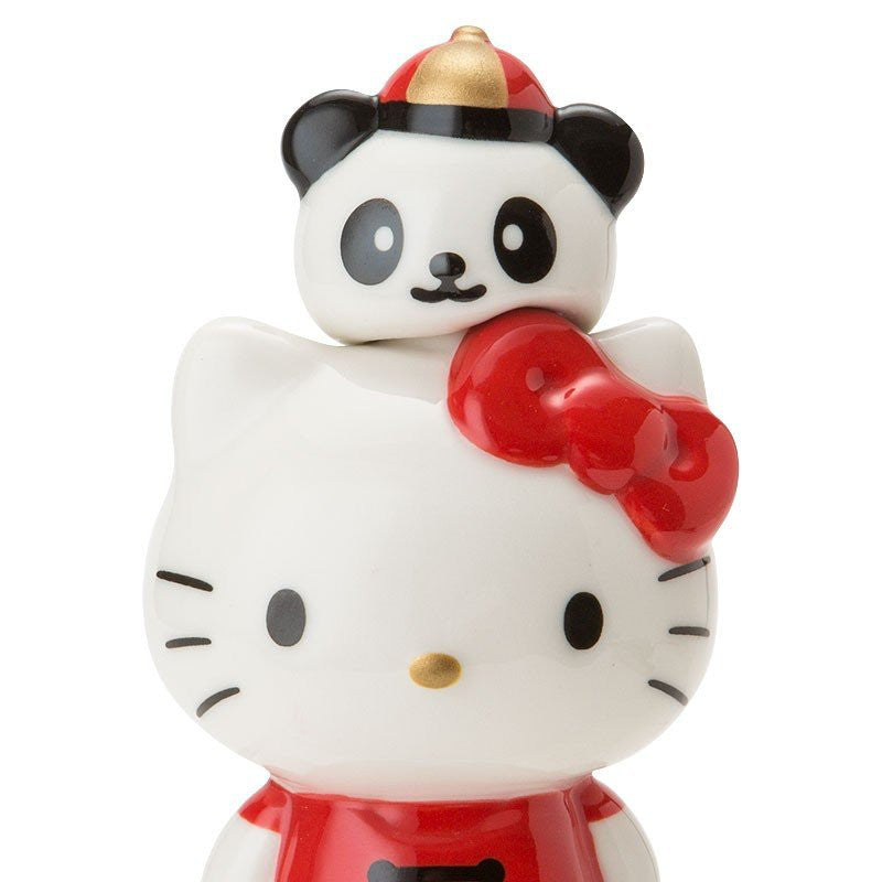 Hello Kitty Seasoning Container Chinese Restaurant Panda Sanrio Japan