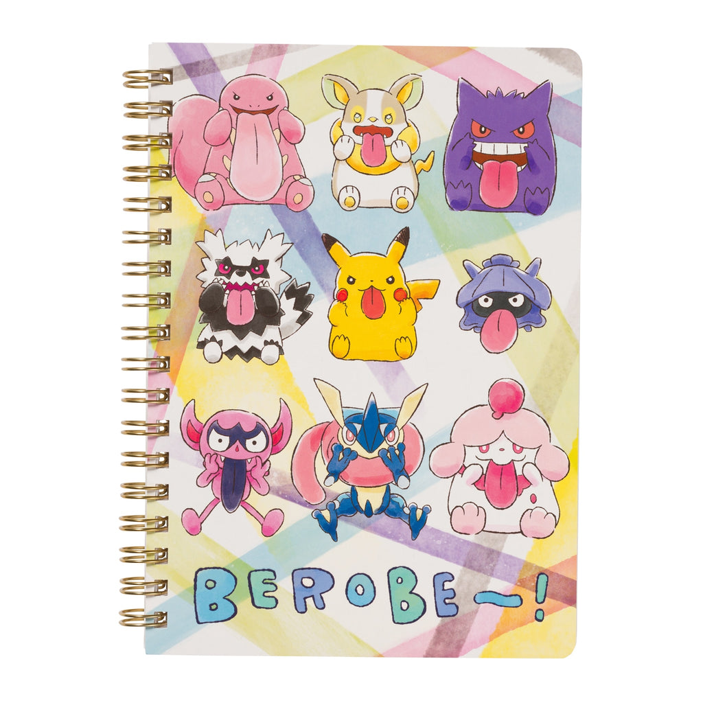 Ring Notebook B6 Together BEROBE~! Pokemon Center Japan