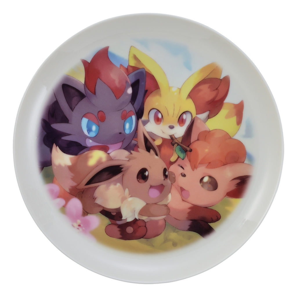Eevee Eievui Plate MOFU-MOFU PARADISE Pokemon Center Japan Original