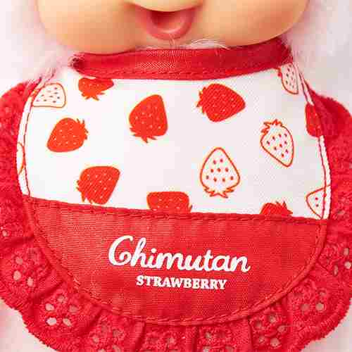 Chimutan Doll S Strawberry Monchhichi Japan 2019