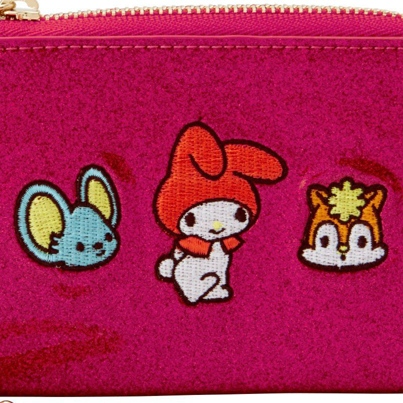My Melody ID Card Pass Case w/ Chain Spark Decoration Sanrio Japan