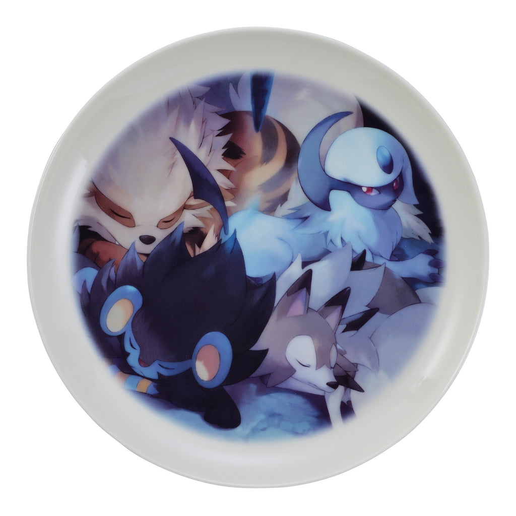 Absol Plate MOFU-MOFU PARADISE Pokemon Center Japan Original