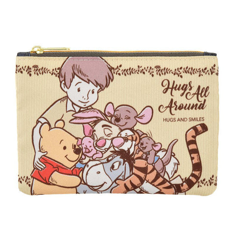 Winnie the Pooh & Friends Tissue Pouch Hug & Smile Disney Store Japan
