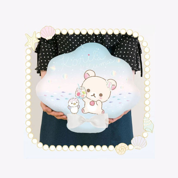 Cool Touch Fabric Cushion San-X Japan Rilakkuma