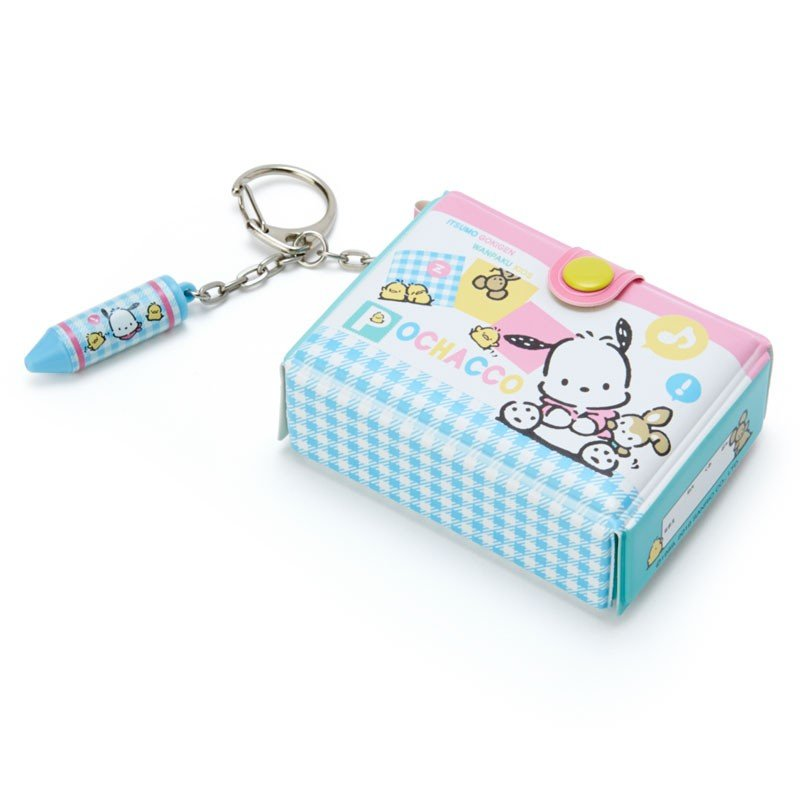 Pochacco Keychain Key Holder Tool Box shape Sanrio Japan