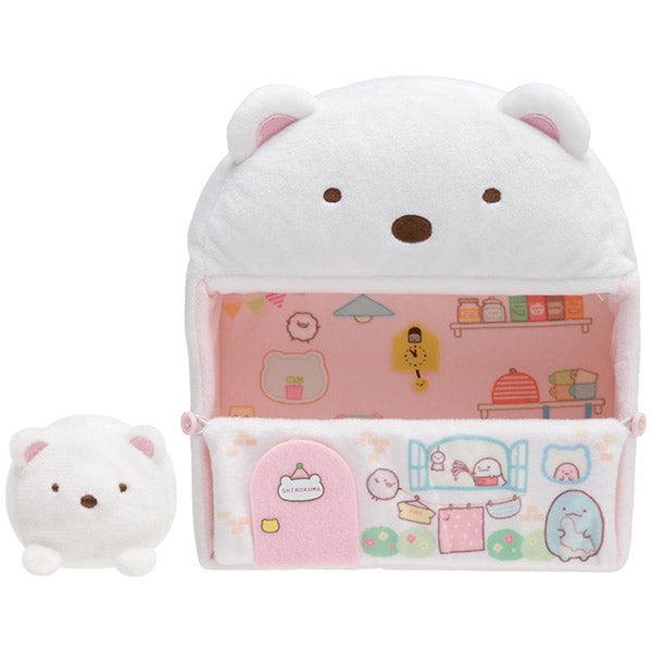 Sumikko Gurashi Plush Doll Bear House Shirokuma's Handmade San-X Japan