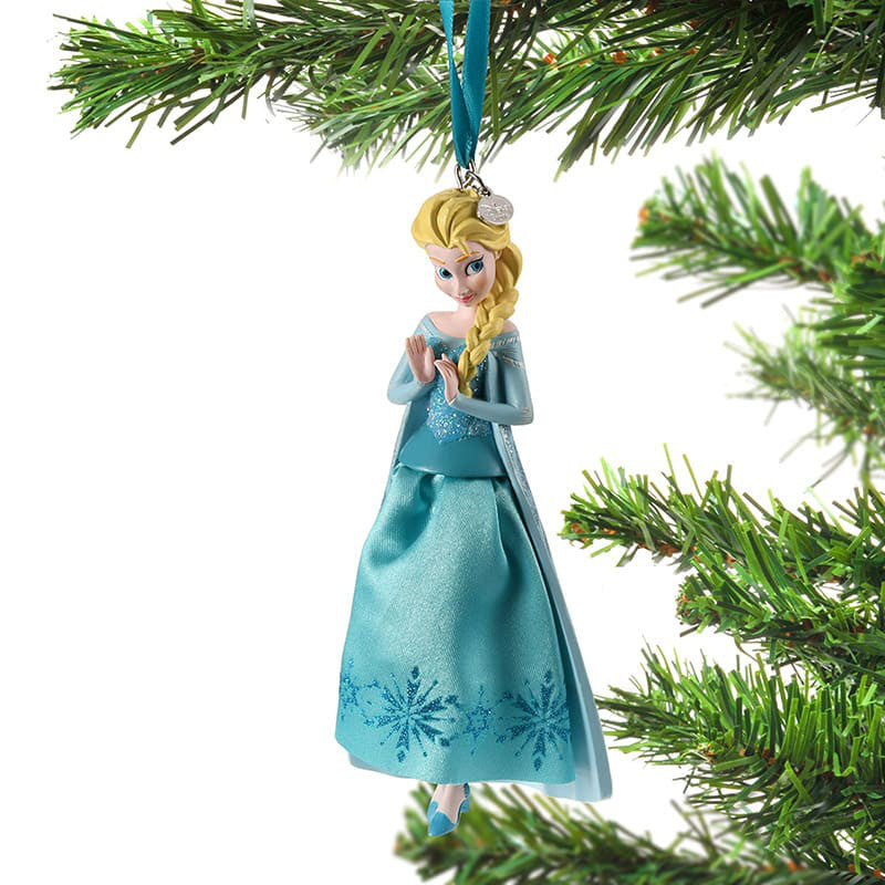 Frozen Elsa Christmas Tree Ornament Dress Disney Store Japan 2018