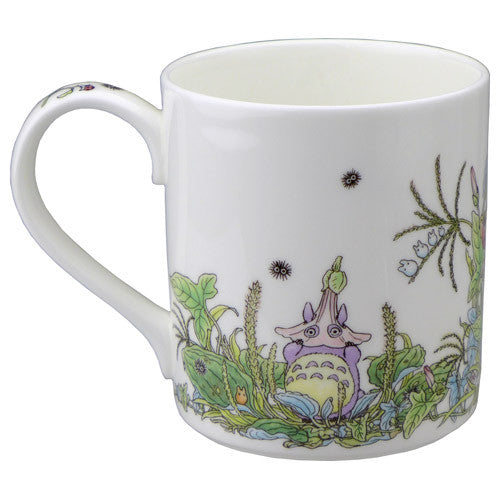 My Neighbor Totoro Mug Cup Ghibli Noritake Japan Bindweed Gift Box