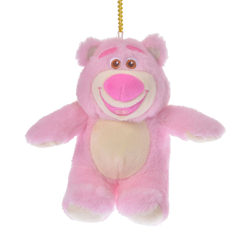 Toy Story LOTS O HUGGIN Bear Plush Keychain Sherbet Color Disney Store Japan