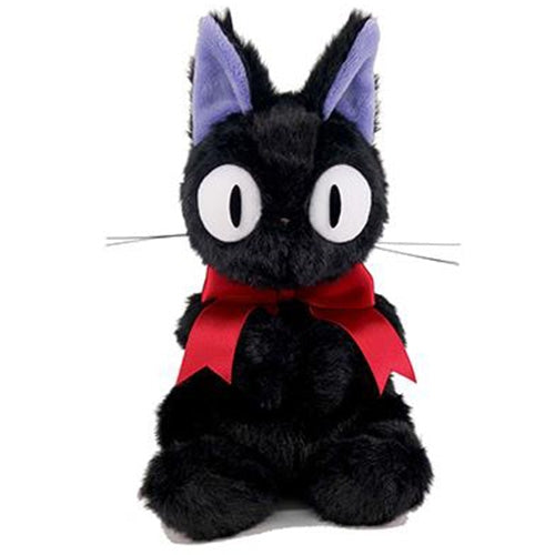 Kiki's Delivery Service Jiji Fluffy Plush Doll M Sit Studio Ghibli Japan