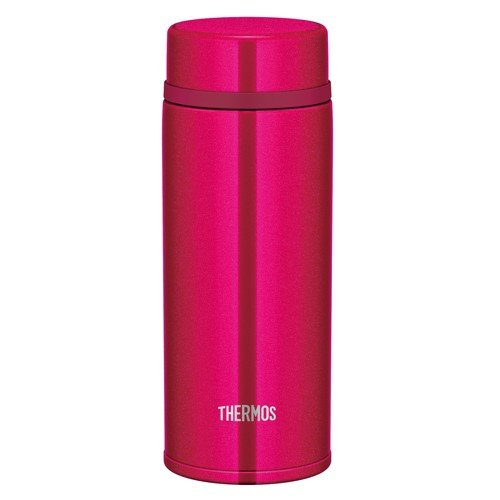 Stainless Bottle 350ml JNW-350-SBR Strawberry Red Thermos Japan