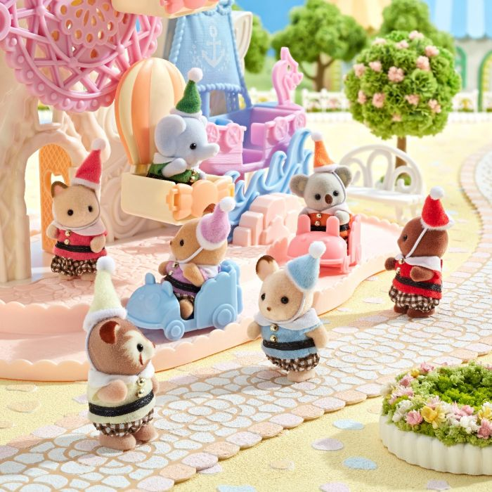 Sylvanian Families 35th Anniversary POINTED HAT BABIES Doll EPOCH Japan