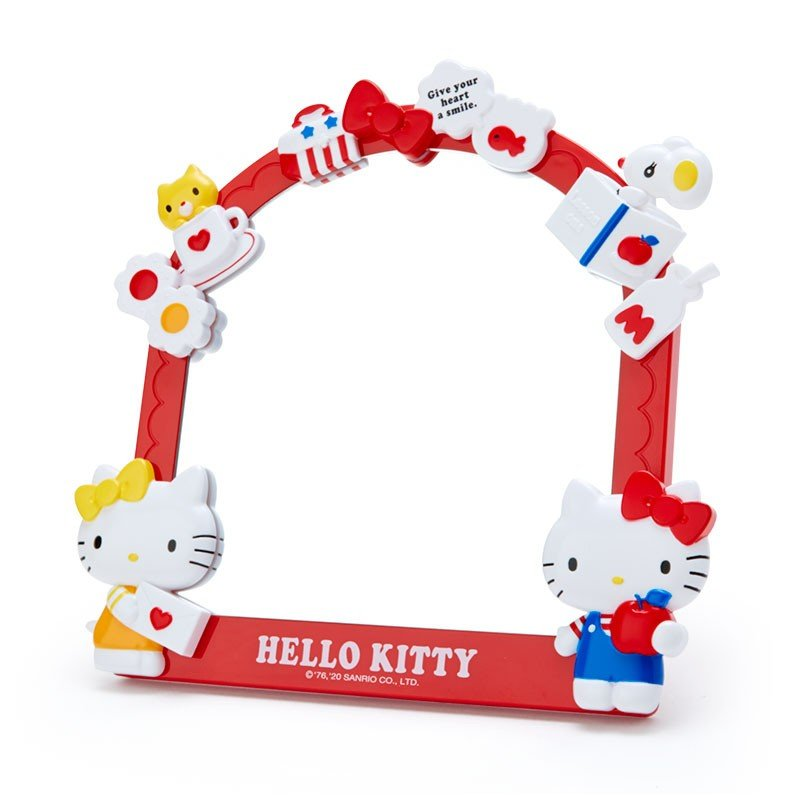 Hello Kitty Decoration Stand Mirror Sanrio Japan
