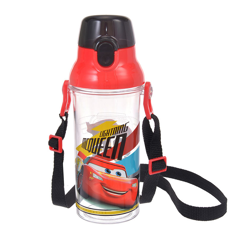 Cars Lightning McQueen Direct Drink One Touch Bottle Racing Disney Store Japan
