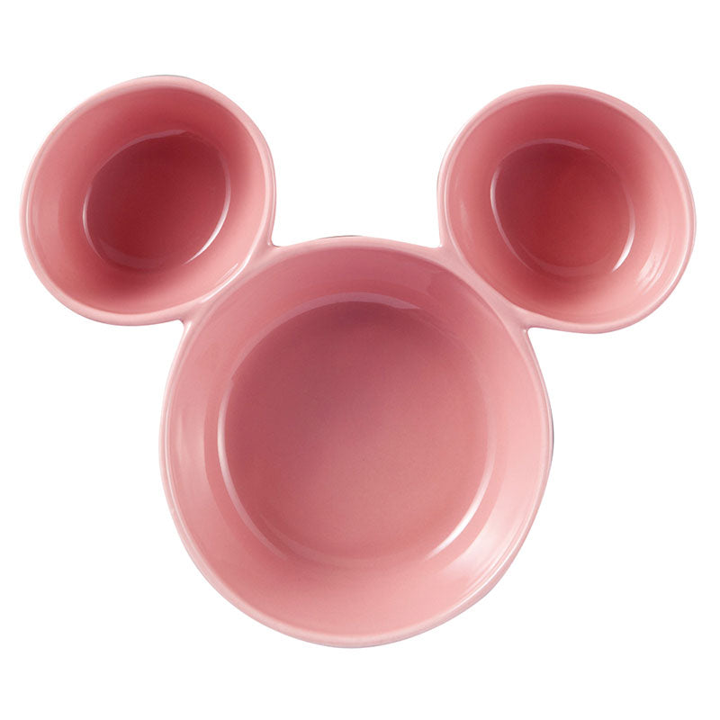 Mickey Porcelain Bowl Pink Disney Store Japan