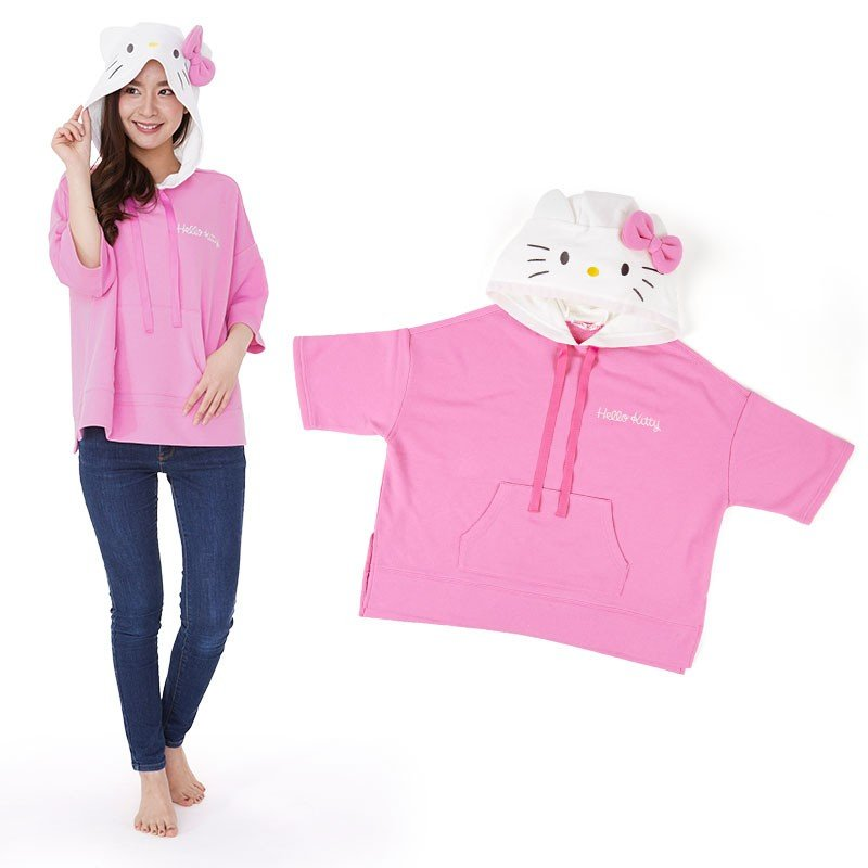 Hello Kitty Hoodie Cosplay Sanrio Japan Women M-L Size 2020