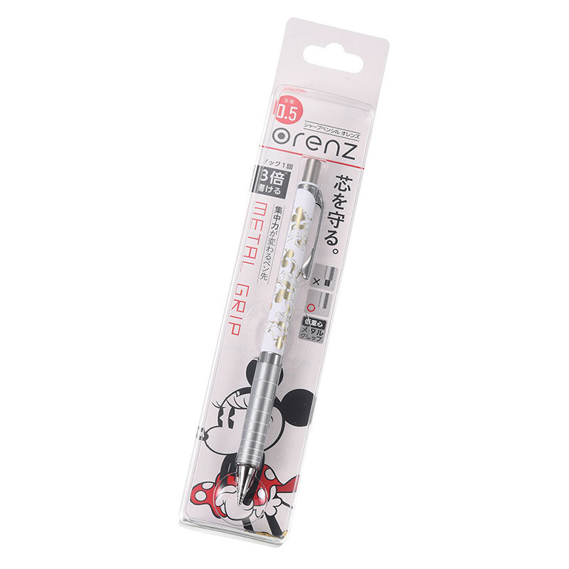 Minnie Pental Orenz 0.5 Mechanical Pencil Pie Cut Eye Disney Store Japan
