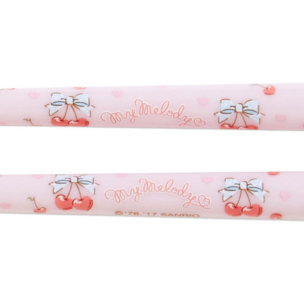 My Melody Chopsticks with Mascot Cherry Sanrio Japan