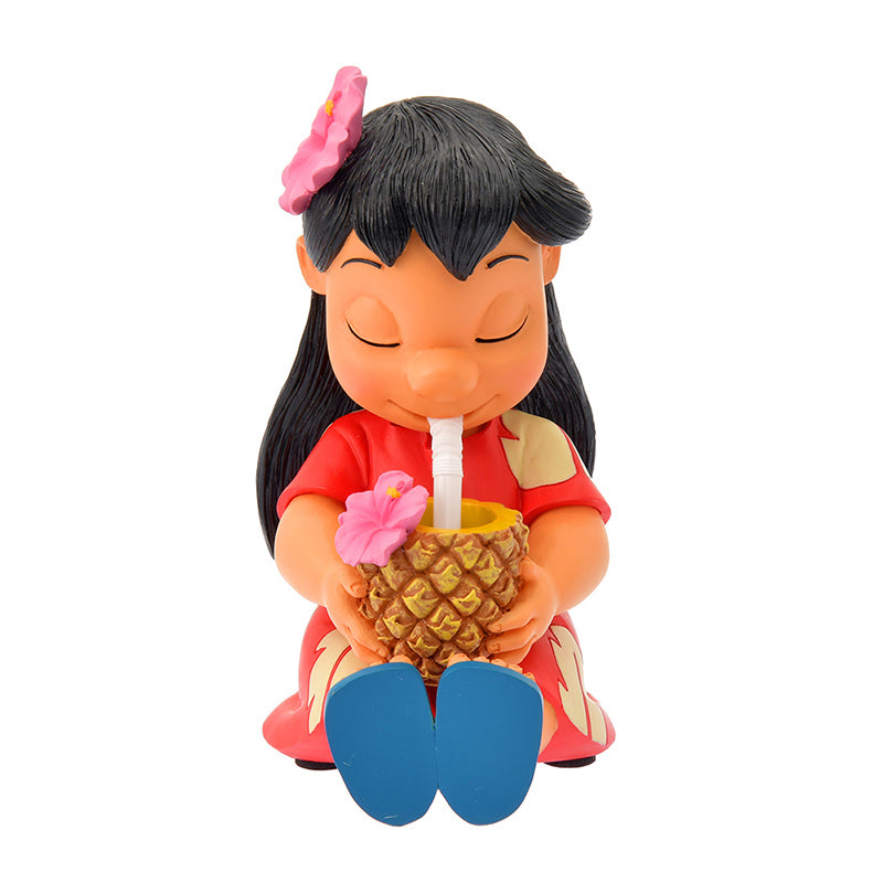 Lilo Bobbin Head Figure Hawaiian Stitch Disney Store Japan