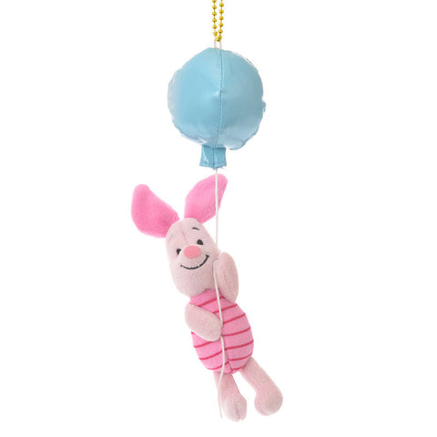 Piglet Plush Keychain BALLOON Color of Pooh Disney Store Japan