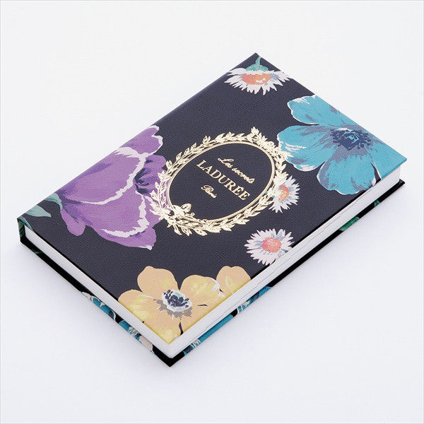 2019 Schedule Planner Book B6 Daily Peony Flower Black Laduree Japan