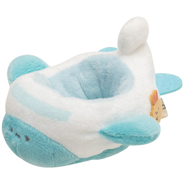 Sumikko Gurashi mini Tenori Plush Doll Outing Leisure Airplane San-X Japan