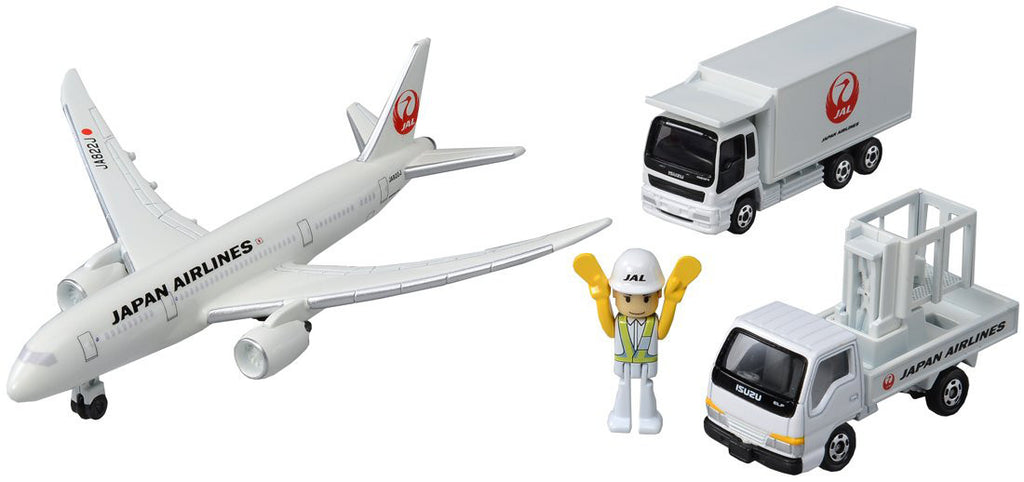 Tomica Toy Car 787 Airport Set JAL Japan