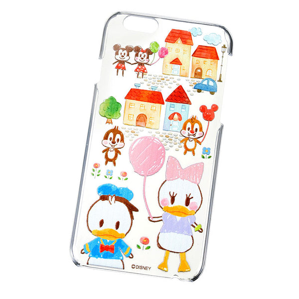 Graffiti Donald Daisy iPhone 6 6S 7 Cover Case Mickey Chip Disney Store Japan