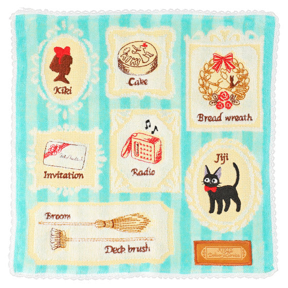 Kiki's Delivery Service mini Towel Frame Studio Ghibli Japan