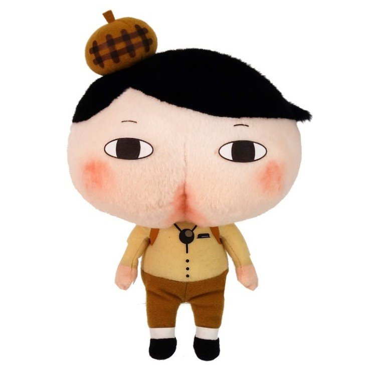 Oshiritantei Butt Detective Plush Doll M Japan 4974475754231