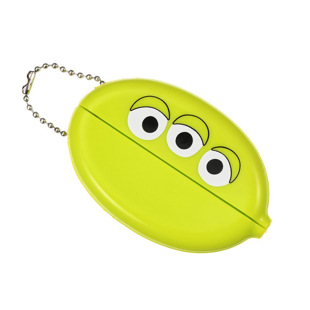Alien Keychain Key Holder with Coin Case Disney Store Japan Toy Story