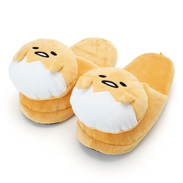 Gudetama Egg Plush Face Slipper Sanrio Japan