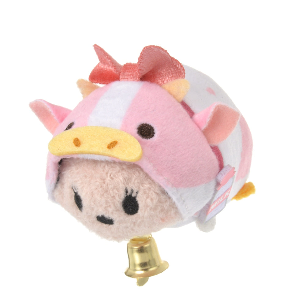Minnie Tsum Tsum Plush mini S Eto Zodiac 2021 Cow Disney Store Japan New Year