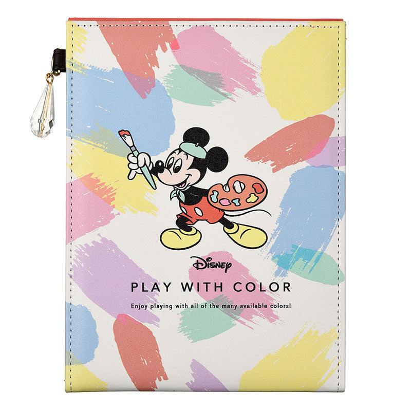 Mickey Folding Mirror Play with Color Disney Store Japan