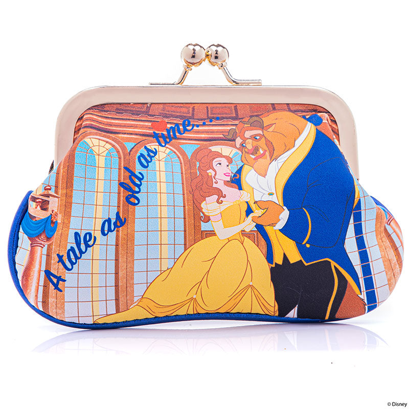 Beauty and the Beast Clasp Pouch Irregular Choice Disney Store Japan