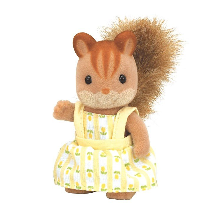 Sylvanian Families Walnut Squirrel Girl Doll RI-34 EPOCH Japan