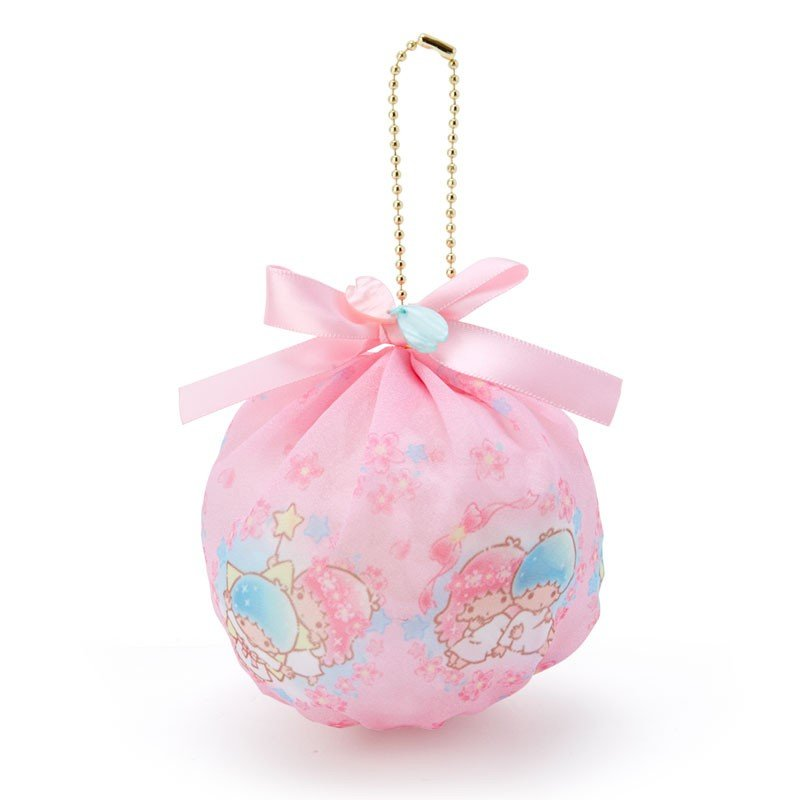Little Twin Stars Kiki Lala mini Ball Round Pouch Sakura Sanrio Japan 2020