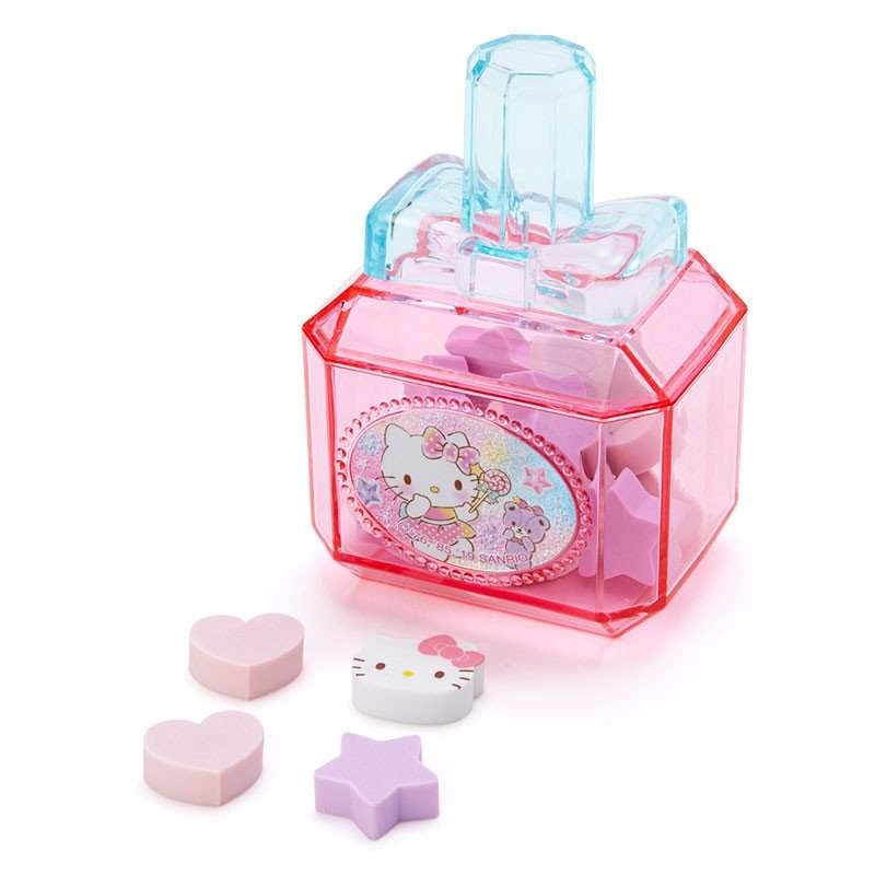 Hello Kitty Kids mini Eraser Cosmetic style Case Sanrio Japan