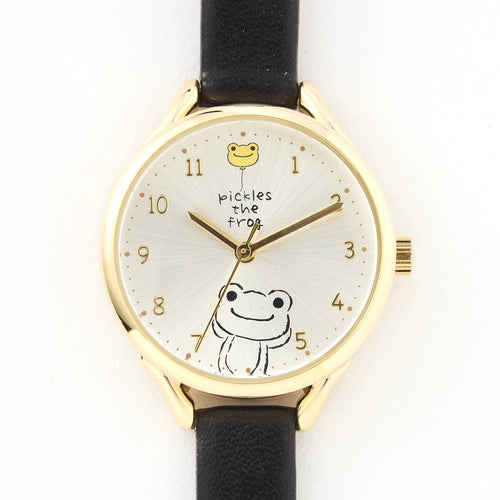 Pickles the Frog Watch Black Japan