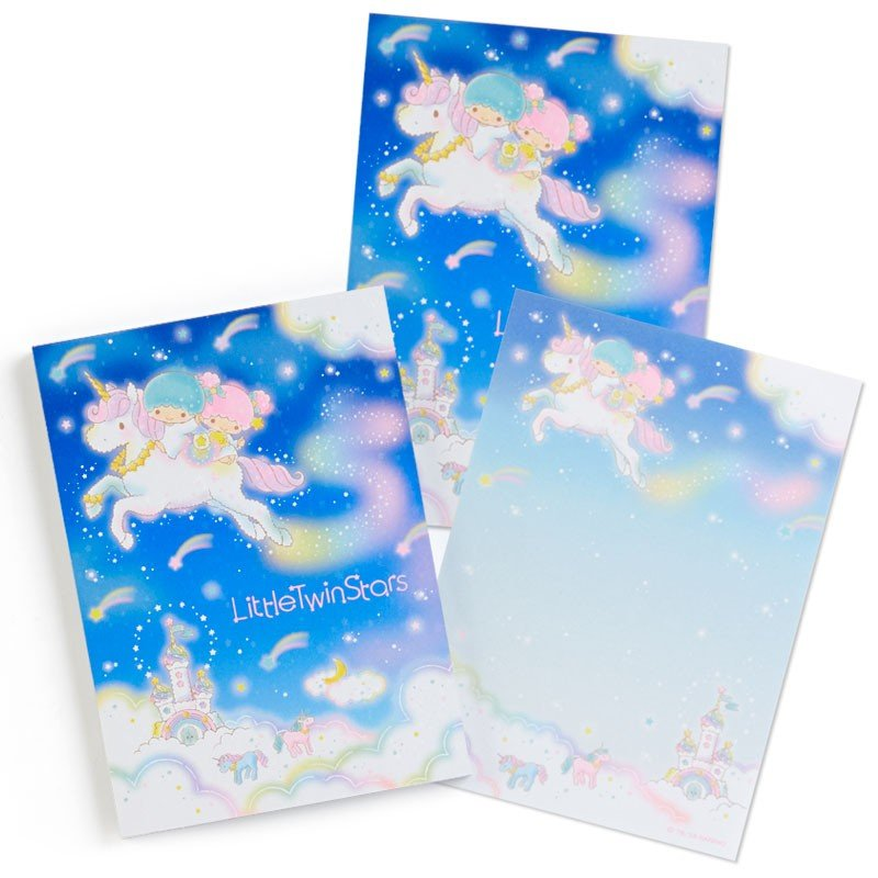 Little Twin Stars Kiki Lala Memo Note Pad Shooting Star Dream Sanrio Japan