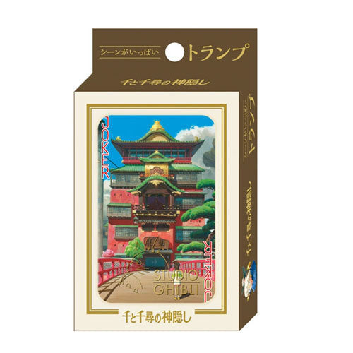 Spirited Away Playing Cards Studio Ghibli Japan
