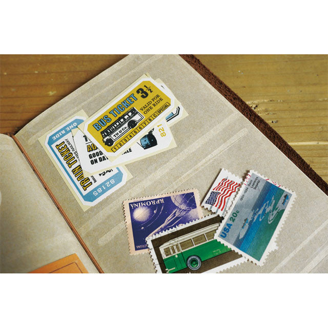 Traveler's Notebook Japan Regular Size Refill 023 Film Pocket Stickers 14348006
