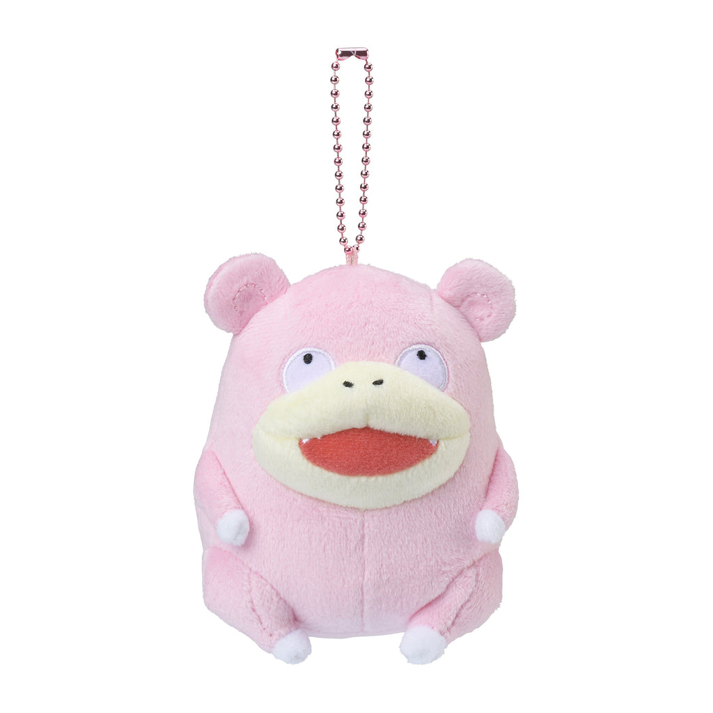 Slowpoke Yadon Plush Keychain 24 Hours Pokemon CHU Pokemon Center Japan