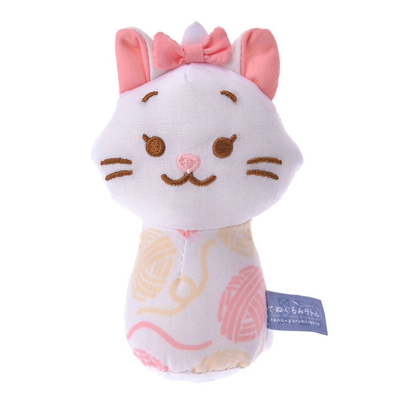 Marie Cat Plush Rattle Disney Store Japan Baby The Aristocats