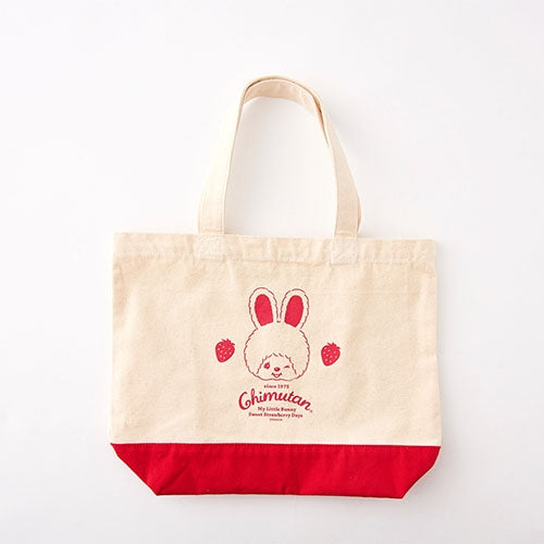Chimutan Tote Bag S Strawberry Monchhichi Japan 2019