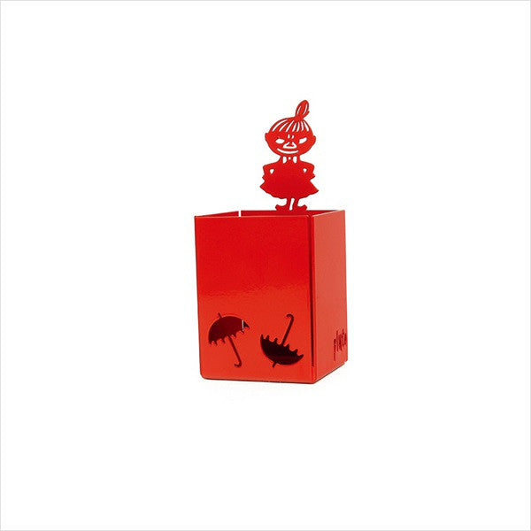 Little My Metal Penholder Red Pluto Produkter Moomin