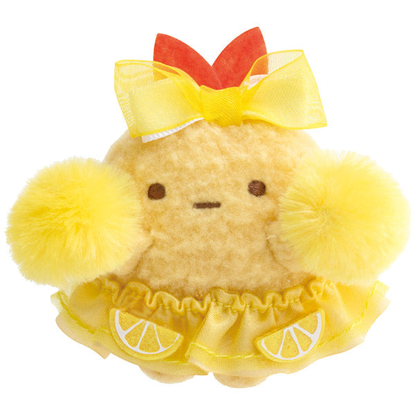Sumikko Gurashi Fried Shrimp Tail mini Tenori Plush Doll Agekko San-X Japan