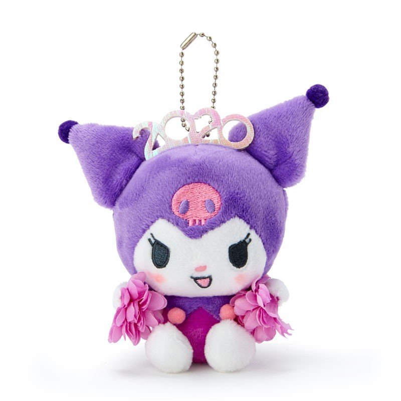 Kuromi Plush Mascot Holder Keychain Sanrio characters 2020 Japan