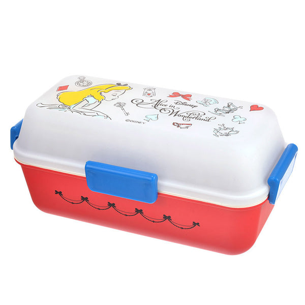 Alice in Wonderland Lunch Box Bento ALICE PARTY Disney Store Japan