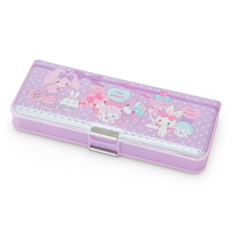 Bonbonribbon Double Side Opening Pen Case Party Sanrio Japan